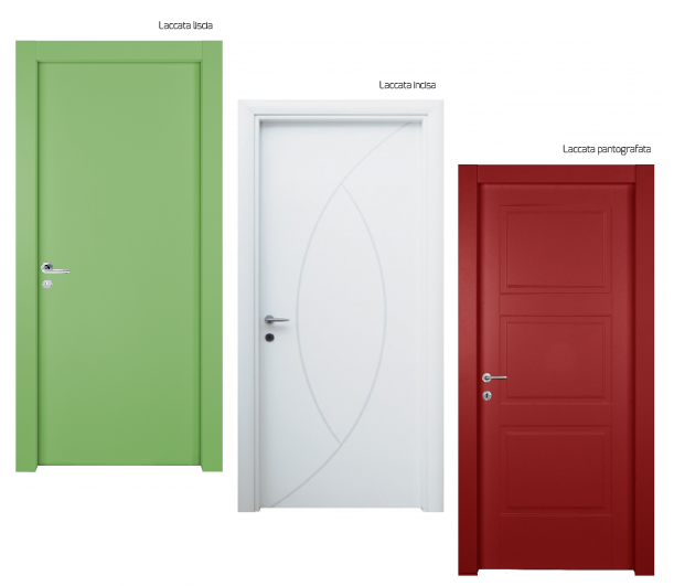 Porte finestre bianche holidays oo - Porte laccate o laminate ...